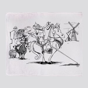 Don Quixote Throw Blanket