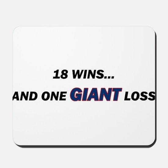 one GIANT loss Mousepad