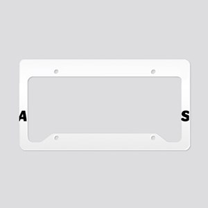 one GIANT loss License Plate Holder