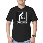 New Daddy Game Over Diaper duty Men's Fitted T-Shi