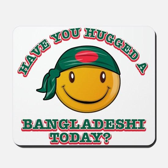 you hugged a Bangladeshi today? Mousepad