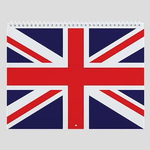 Union Jack Wall Calendar