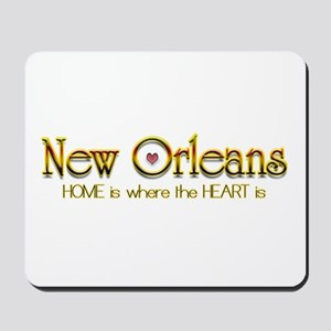 My heart is in New Orleans Mousepad