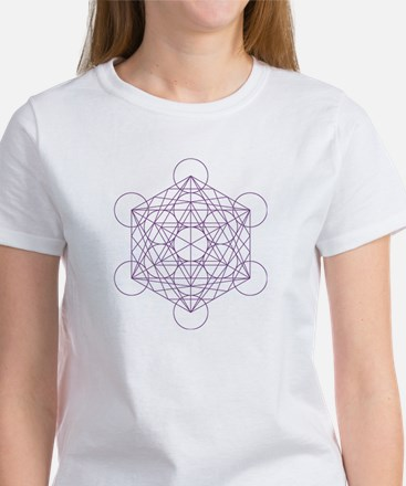 Women's T-shirt with Metatron's cube