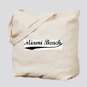 Vintage Miami Beach Tote Bag