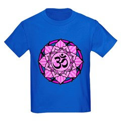 Aum Lotus Mandala (Purple) T