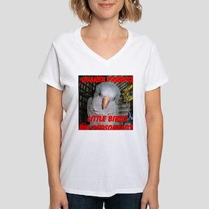 Quaker Parrot Women's V-Neck