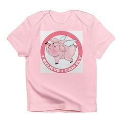 Flying Pig Infant T-Shirt