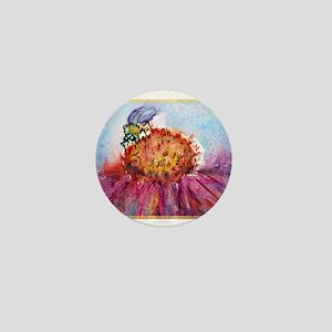 Bee, colorful, Mini Button