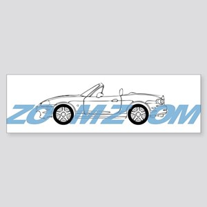 MIATA ZOOM ZOOM Sticker (Bumper)