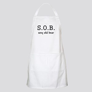 S.O.B. Sexy Old Bear Apron