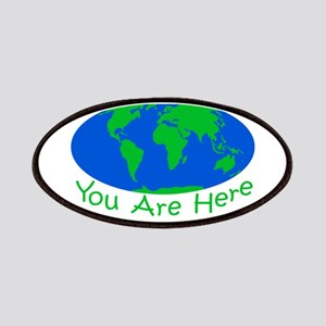 Earth Day You Are Here Patches