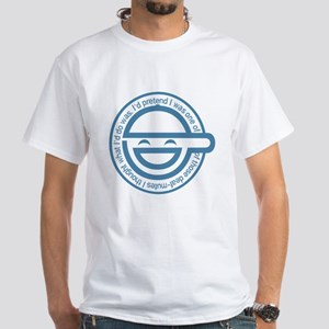 The Laughing Man White T-Shirt