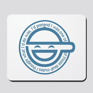 The Laughing Man Mousepad