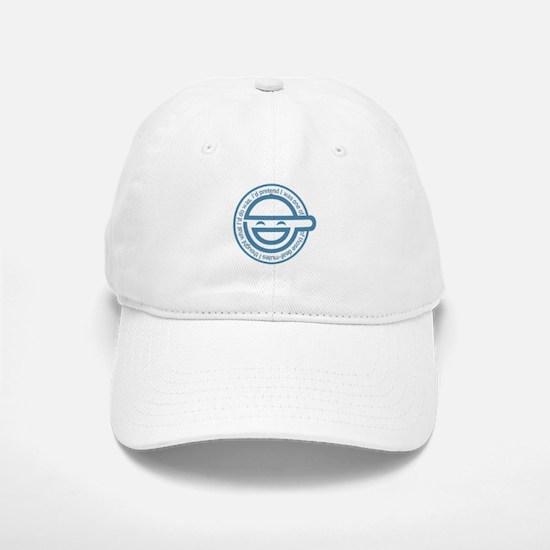 The Laughing Man Baseball Baseball Cap