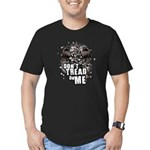 Don't Tread On Me Men's Fitted T-Shirt (dark)