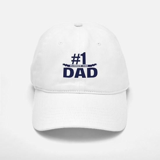 Number 1 DAD Baseball Baseball Cap