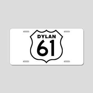Dylan 61 Aluminum License Plate