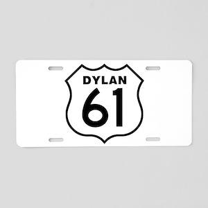 Dylan 61 Aluminum License Plate