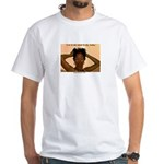 manecoarse.com White T-Shirt