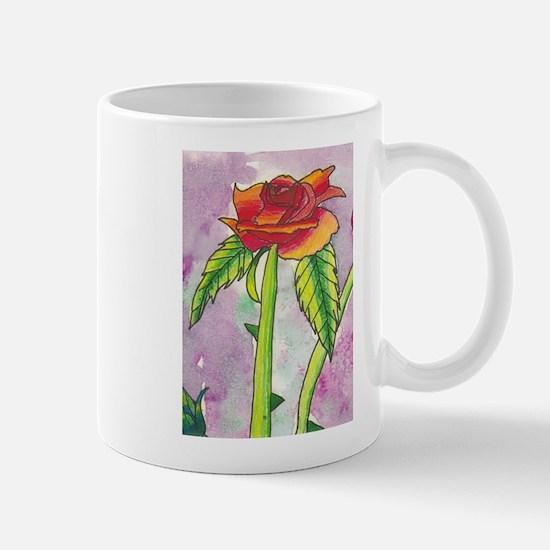"""A Rose All Alone"" Mug"