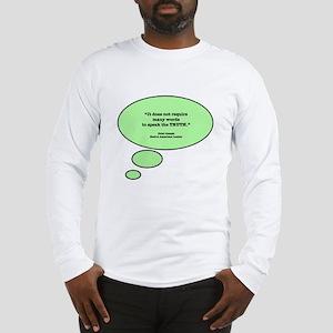 Chief Joseph & Truth Long Sleeve T-Shirt