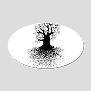Tree of Life 22x14 Oval Wall Peel