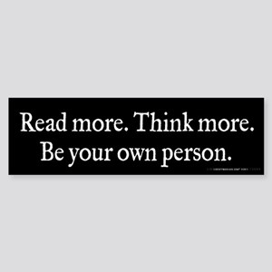 Read Think Be Sticker (Bumper 10 pk)