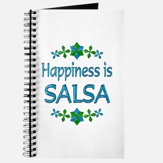 Happiness Salsa Journal