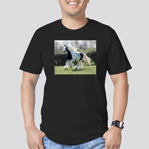 Gypsy Horse Mare Men's Fitted T-Shirt (dark)