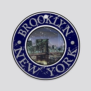 Brooklyn, New York Ornament (Round)