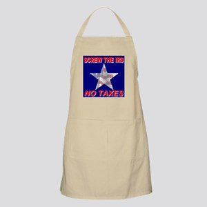 Screw The IRS No Taxes BBQ Apron