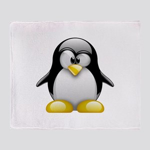 Tux Throw Blanket