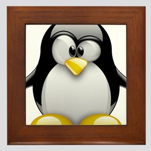 Tux Framed Tile