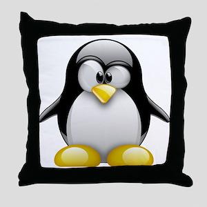 Tux Throw Pillow