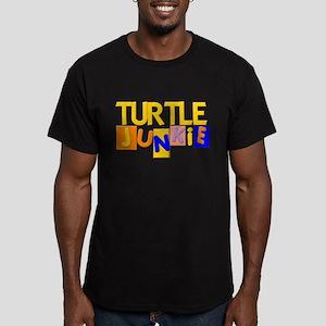 Turtle Men's Fitted T-Shirt (dark)