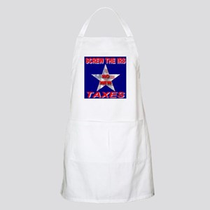 Screw The IRS No New Taxes BBQ Apron