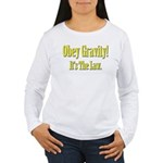 Gravity Women's Long Sleeve T-Shirt