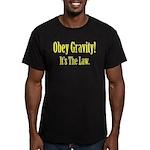 Gravity Men's Fitted T-Shirt (dark)