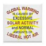 Global Warming Tile Coaster
