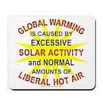 Global Warming Mousepad