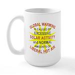 Global Warming Large Mug
