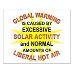 Global Warming Small Poster