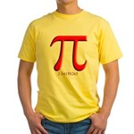 Pi Yellow T-Shirt