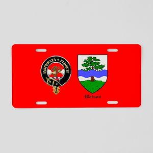 Clan Watson (Scottland) Aluminum License Plate