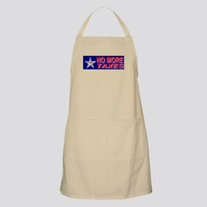 No More Taxes Flag Star BBQ Apron