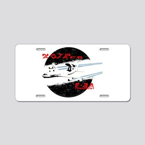 AWACS Aluminum License Plate