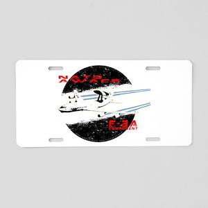 AWACS Aluminum License Plate