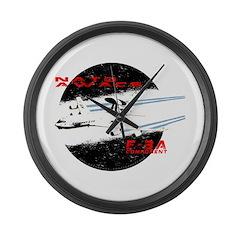 AWACS Large Wall Clock