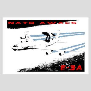 AWACS Large Poster